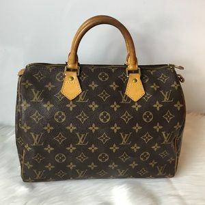 100% Authentic Louis Vuitton 1998 Speedy 30